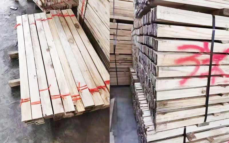 定制生产薄木方方料规格