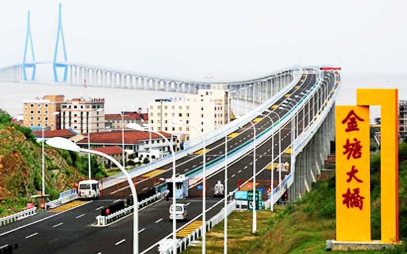 浙江舟山金塘跨海大桥