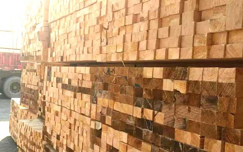 建筑用木材