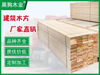 建筑工程用木方木跳板