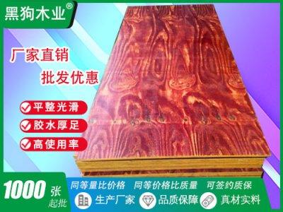 重庆四川2.4x1.2建筑模板