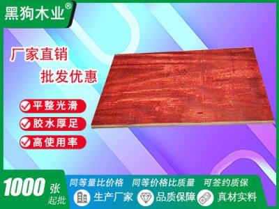全桉木建筑模板