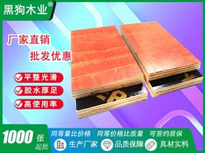 规格齐11层建筑木模板